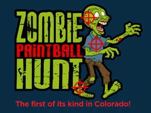 zombie paintball hunt