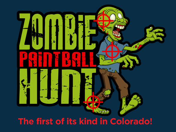 zombie paintball hunt