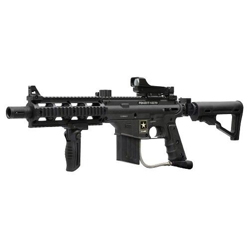 Tippmann US Army Project Salvo Sniper Paintball Gun