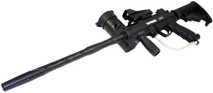 Tippmann A-5 Sniper Paintball Gun with Red Dot