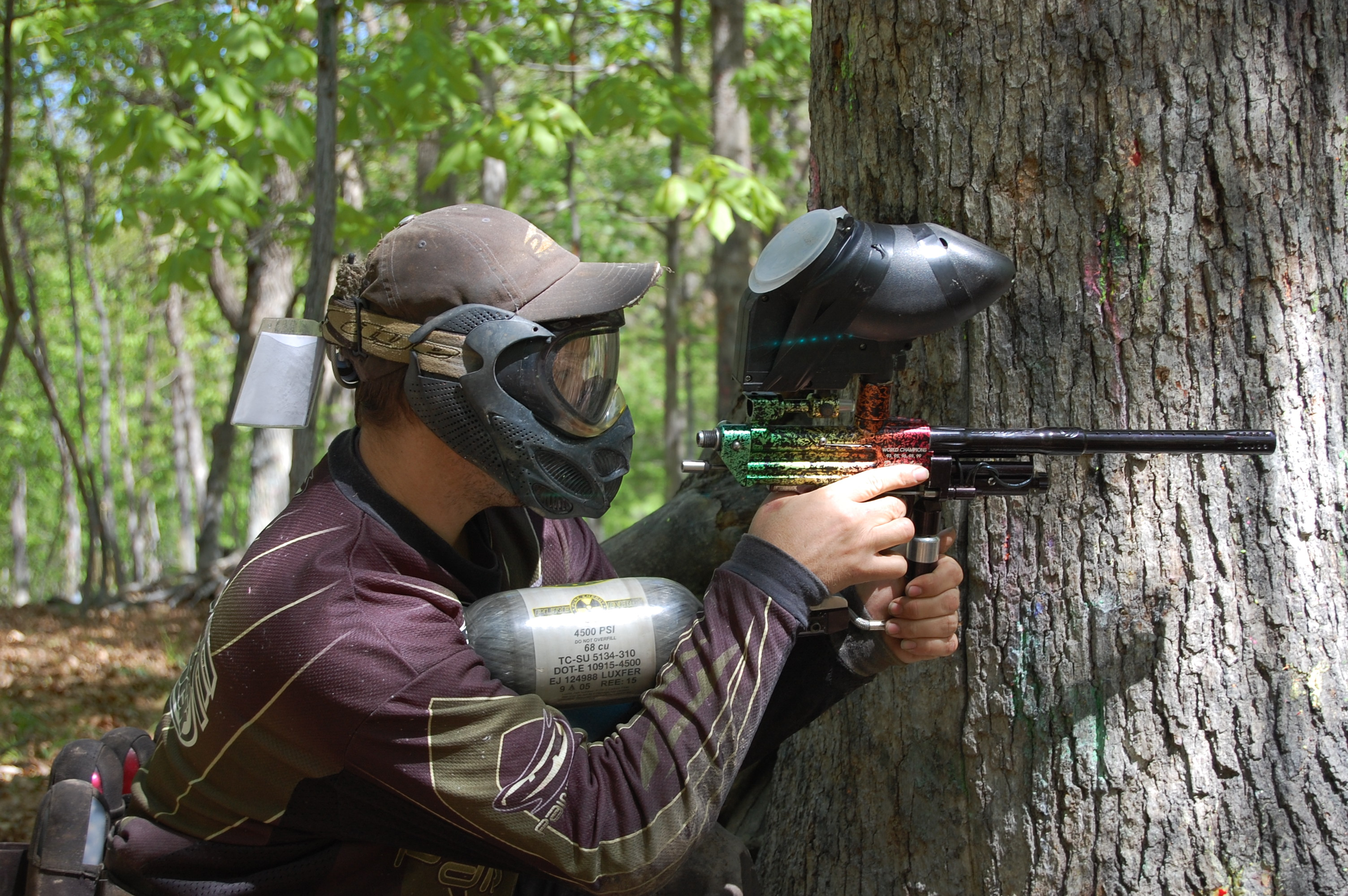 best paintball masks for woodsball