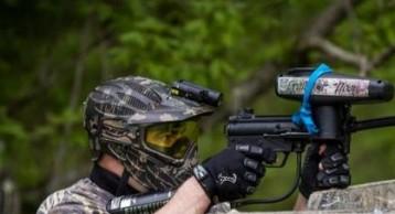 Paintball rifles
