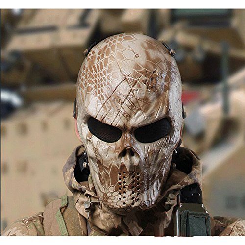 Top 3 Cool Airsoft Masks To Improve Your Game