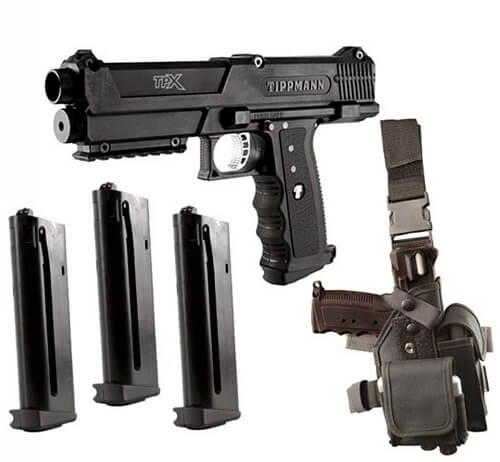 Tippmann TPX Paintball Pistol Starter Kit