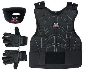 maddog sports padded paintball chest protector