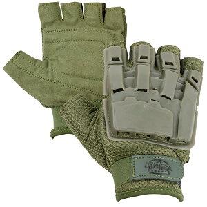 Valken V-TAC Half Finger Plastic Back paintball Gloves