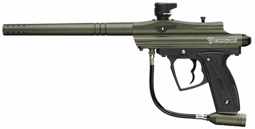 D3FY Conqu3st Semi-Auto Paintball Marker Gun With Barrel
