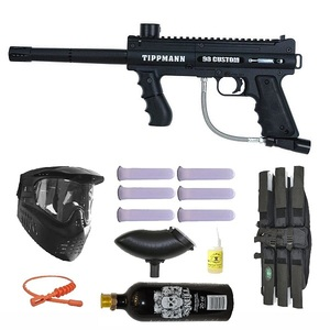 Tippmann 98 Custom Platinum Basic Series 3Skull Paintball Gun Marker