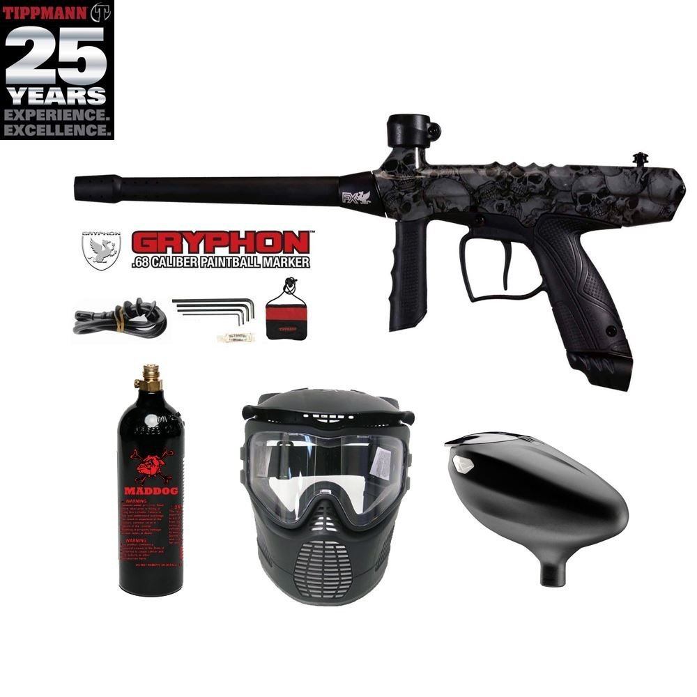 Tippmann Gryphon Beginner CO2 Paintball Gun Package