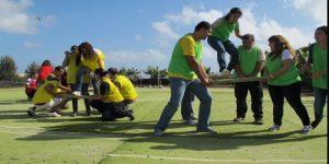 team building games