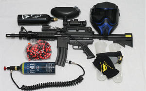 paintball gun parts and equipment