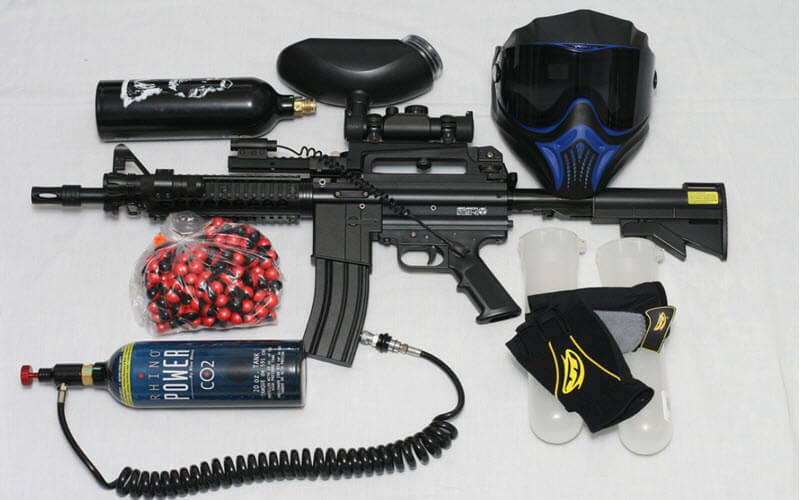 A Complete Guide to Paintball Gun Parts and Equipment