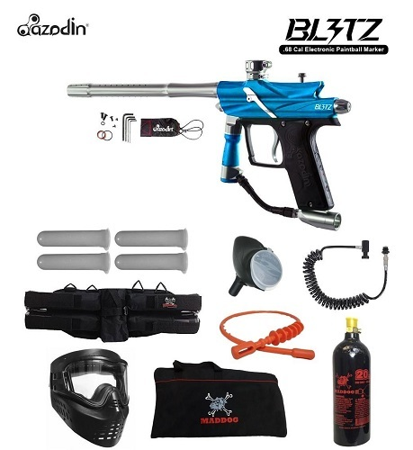 MAddog Azodin Blitz 3 Specialist Paintball Gun Package