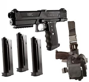 Tippmann TPX Paintball Pistol Starter Kit - Black