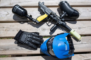 the paintball equipments