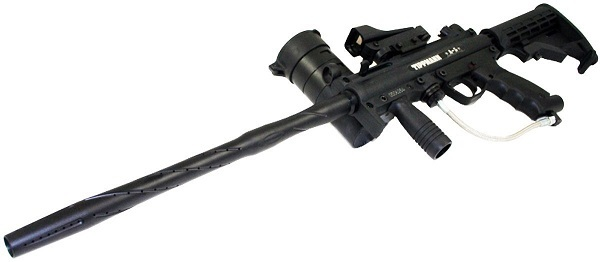 Tippmann A-5 Paintball Gun with Red Dot