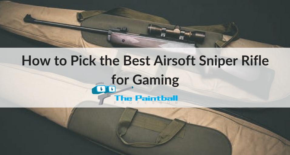 best airsoft sniper rifle