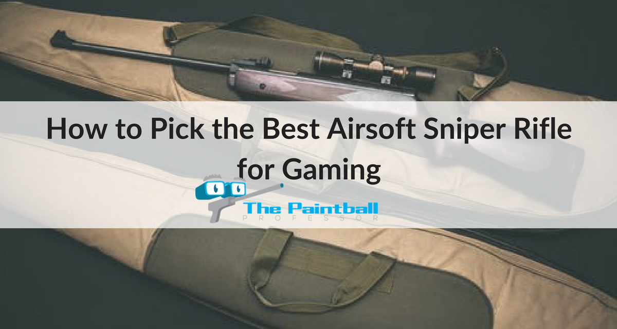 How to Pick the Best Airsoft Sniper Rifle for Gaming (Reviews)