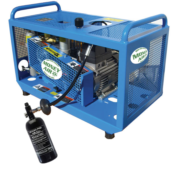 MONEY AIR MINI MONEY PAINTBALL COMPRESSOR ALL IN ONE SYSTEM