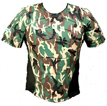 cammo Full body protection padded top