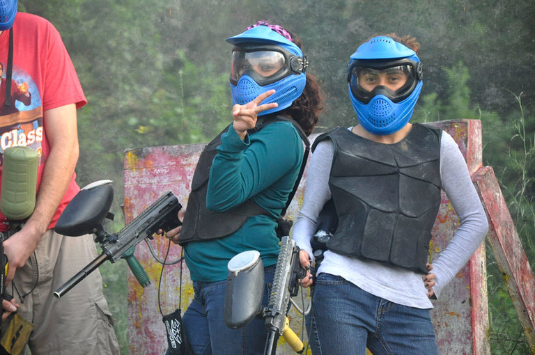 paintball tips for girls