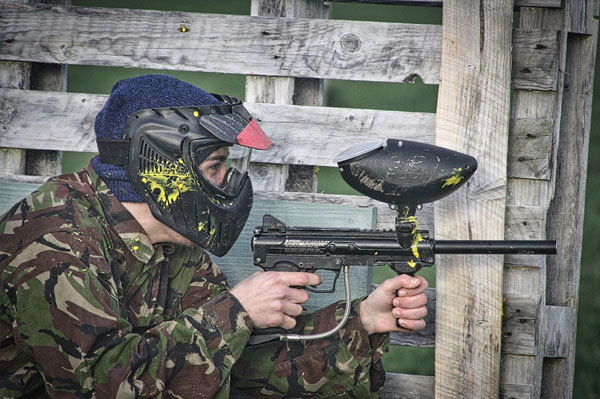 Paintball action army gun military