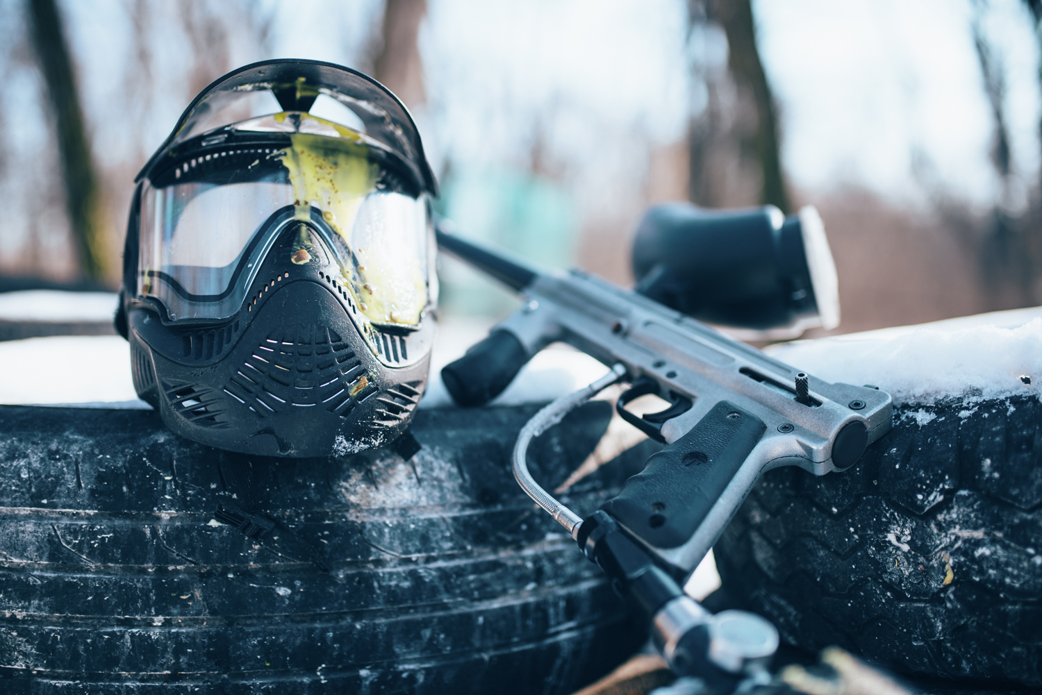 How to Suit up for Paintball